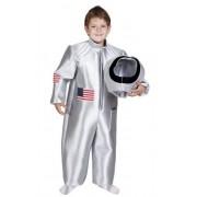 Geen Astronauten kostuum voor kids 5-7 jaar Zilver