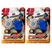 Metal Master Fury battle blade spinning toy (pack of 2)