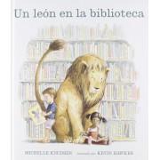 Un Leon En La Biblioteca, Hardcover