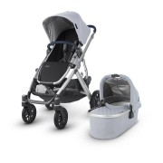 Uppababy 0318-VIS-UK-WIL Vista Pushchair and Carrycot William (Chambray Oxford)
