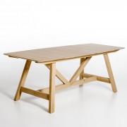 Uitschuifbare tafel, Buondi, design E.Gallina