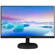 "Monitor IPS LED Philips 23.8"" 243V7QJABF/00, Full HD (1920 x 1080), VGA, HDMI, DisplayPort, Boxe, 5 ms (Negru)"