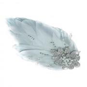 Agrafa Borealy Pearl Feather