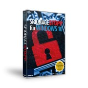 FRANZIS.de (ausgenommen sind Bücher und E-Books) Spionagestopp für Windows 10