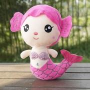 ER Peluches Regalo Para Bebé Niños Niñas Niños Cute Adorable Muñeco De Sirena - Rosa