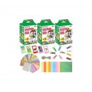 Fujifilm Instax Mini Instant Film (3 paquetes 60 hojas) 5...