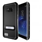 Black Shock Proof Waterproof Kickstand Case For Samsung Galaxy S8 Plus