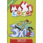 Boosterbox Maxi Loco - Tafels 11-25 (8-10 jaar)
