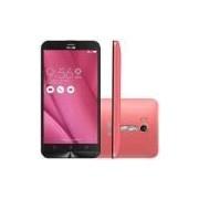 Smartphone Asus Zenfone Go Live Dtv 16gb Zb551kl Rosa - 16gb, Câmera 13mp, Tela 5.5