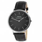 NEOS Svart Classic Safir Klocka