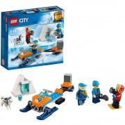 Lego city team di esplorazione artico
