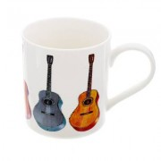 Music Sales Mug with Acoustic Guitar