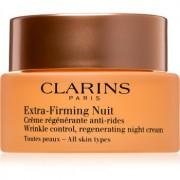 Clarins Extra-Firming cremă de noapte pentru fermitate cu efect de regenerare pentru toate tipurile de ten 50 ml