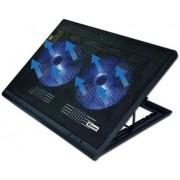 """Cooler Laptop VAKOSS LF-2463UK 17"""" (Negru)"""