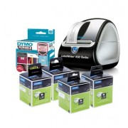 DYMO DEAL DYMO LABELWRITER 450 TURBO PLUS 5 LW LABELS MIXED(EACH)