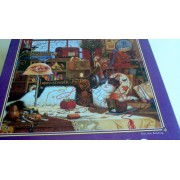 Charles Wysockis Americana Puzzle, Sew, Sew Relaxing 1000 Pc