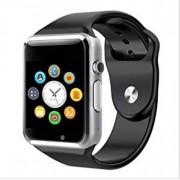 A1 смарт часовник със слот за SIM карта и с 1.5 инчов дисплей - сребрист