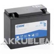Exide GEL12-16 12V 16Ah 100A motorkerékpár akkumulátor JOBB+