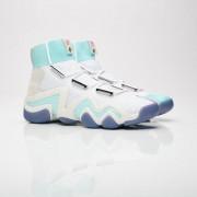 Adidas Crazy 8 x Nice Kicks för män i vitt 42 White