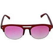 MARC JOHNSONS Round Sunglasses(Pink)