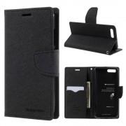 Mercury Pouzdro / kryt pro Xiaomi Mi6 - Mercury, Fancy Diary BLACK/BLACK