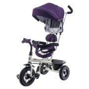 Tricicleta cu scaun rotativ EURObaby T306E-1- Violet
