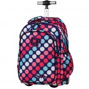 Plecak szkolny na kółkach CoolPack Junior 34 L DOTS