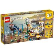 LEGO Creator 3 in 1, Roller Coaster-ul Piratilor 31084