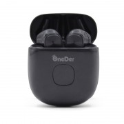 Oneder W16 Noise Cancelling Wireless Headphones LED Display Bluetooth Headsets - Black