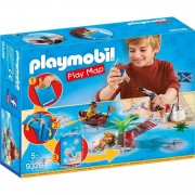 Playmobil play map il tesoro dei pirati