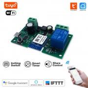 1 kanálový bezdrôtový prepínač WiFi 5V/7-32V - Tuya Smart Life