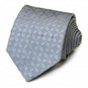 Светлый галстук с синим дизайном Celine 826052