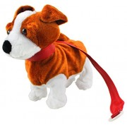 My Dancing Puppy 'Terrier Puppy' Walk Along Toy Stuffed Plush Dog, Realistic Dancing & Walking Actions with Music (Colors May Vary)