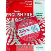 OXFORD New English File Elementary Workbook with Answer Booklet and Multi-ROM Pack - Clive Oxenden, Christina Latham-Koenig