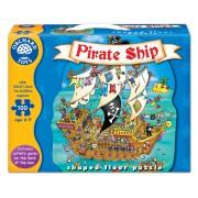 Puzzle De Podea Corabia Piratilor (100 De Piese) Pirate Ship