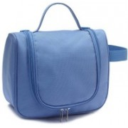 Everyday Desire Cosmetic Make Up Toiletries Travel Hanging Bag - Blue Travel Toiletry Kit(Blue)