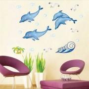 TipTop Walls Sea Spray Mönster Dolphin