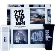Carolina Herrera 212 VIP Men lote de regalo ІХ eau de toilette 100 ml + gel de ducha 100 ml