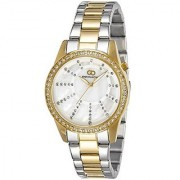 Gio Collection Analog White Dial Womens Watch - G2001-44