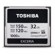 Toshiba EXCERIA - Flash Memory Card - 32 GB - 1000x - CompactFlash