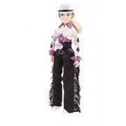 """Reeves Breyer Traditional Taylor Cowgirl 8"""" Toy Figure (1:9 Scale)"""
