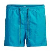 Jack & Jones Sunset Swim Shorts Atomic Blue Badshorts Herr