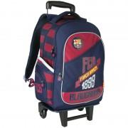Plecak młodzieżowy na kółkach z odpinanym stelażem Fc Barcelona barca fan 4