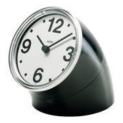 Alessi Horloge à poser Cronotime - Alessi noir en matière plastique