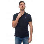 Barbour Polo manica corta BAP0L0119 Blu Cotone Uomo