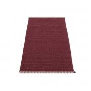 Pappelina - Mono Teppich, 60 x 150 cm, zinfandel / rose taupe