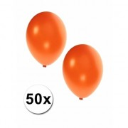 Shoppartners Metallic oranje ballonnen 36 cm