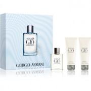 Armani Acqua di Giò Pour Homme coffret XXIV. Eau de Parfum 50 ml + gel de duche 75 ml + bálsamo after shave 75 ml