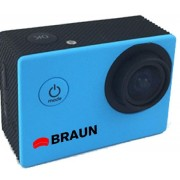 Camera video sport Braun Paxi young -Albastra