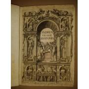 ANDREAE VESALII ANATOMIA. Addita nunc postremo etiam Antiquorum anatome. Andreas Vesalius (Vesalio) [ ]